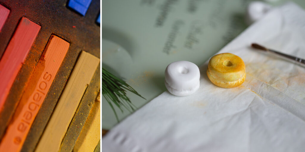 DIY Mini Donuts aus Modelliermasse selber machen