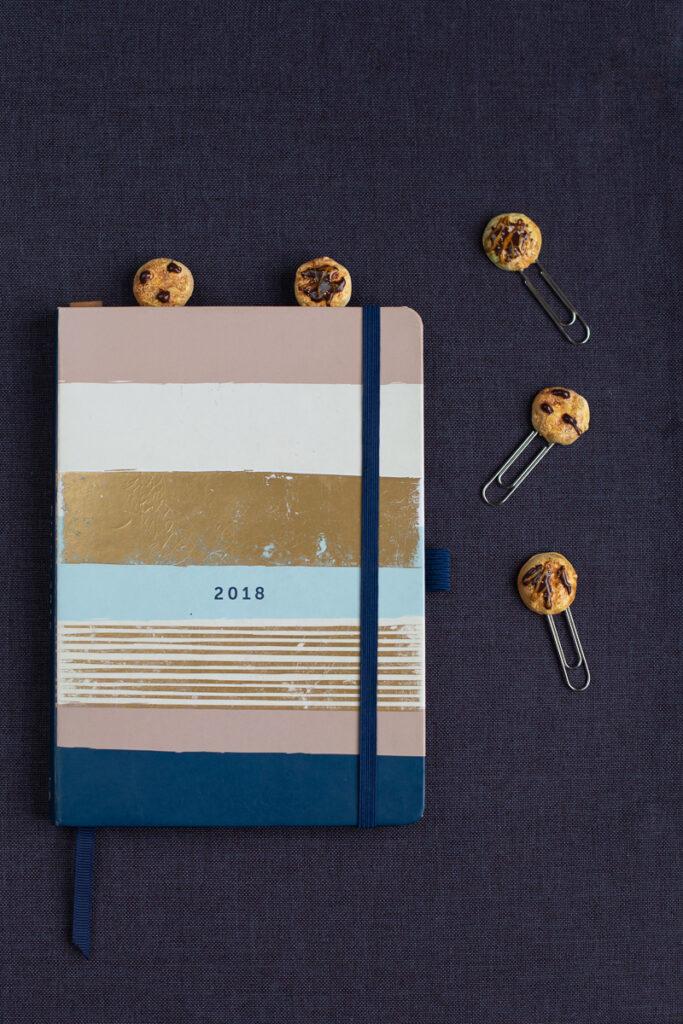 DIY FIMO Büroklammern für deinen Kalender