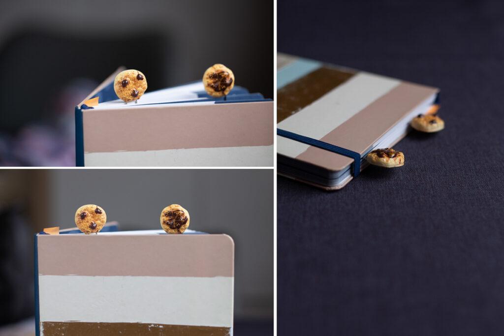 DIY FIMO Büroklammer für deinen Kalender