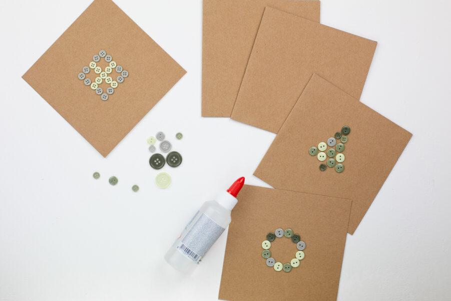 DIY Weihnachtskarten basteln - Kreative Ideen zum Selbermachen