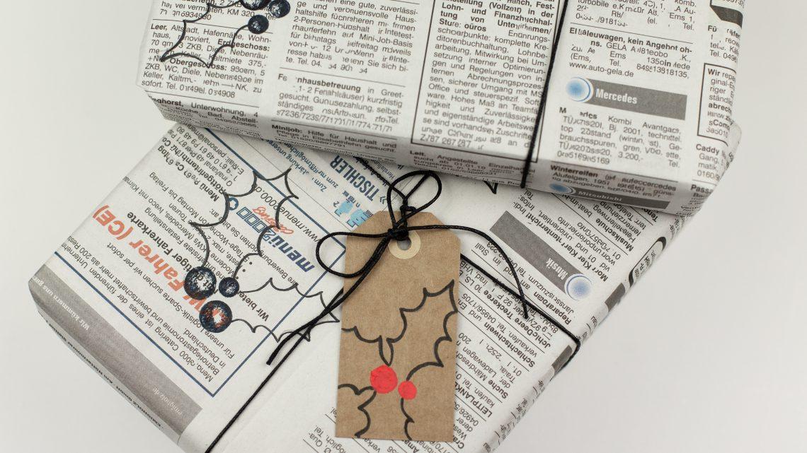 DIY Challenge – Geschenkpapier selbst machen