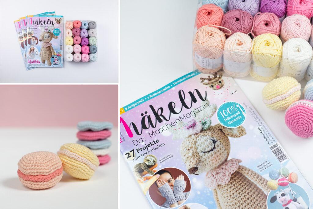 """DIY Macarons im """"häkeln – Das MaschenMagazin"""""""