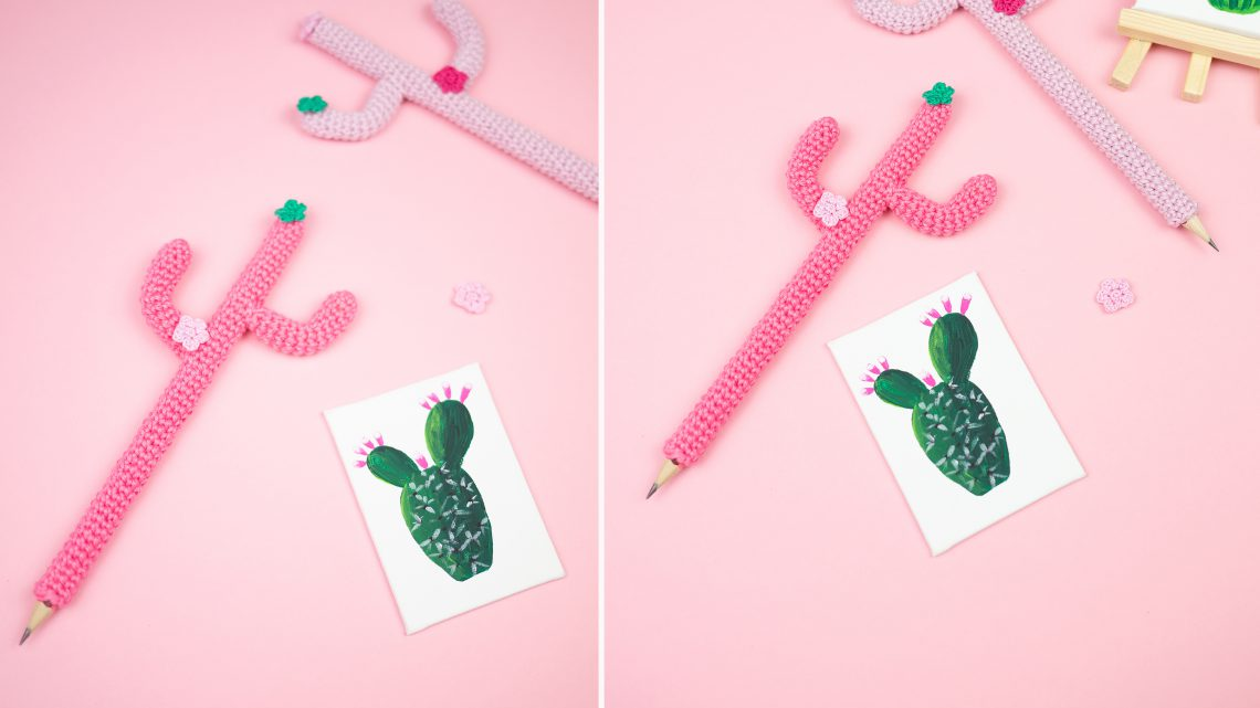 DIY Kaktus Stift – Urban Jungle Power