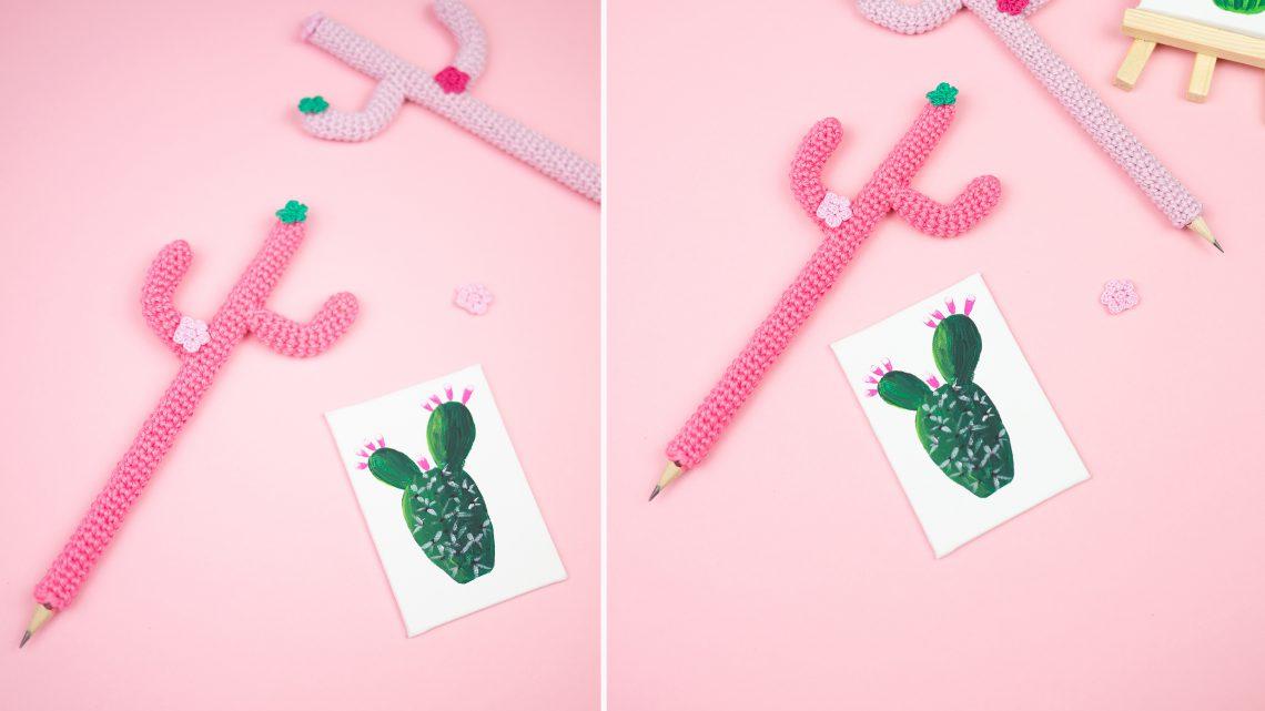 Kaktus Stift Häkelprojekt Für Anfänger Wiebkeliebt Diy Blog