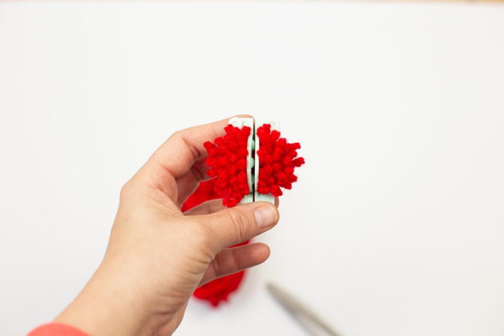 Weihnachtsgeschenke kreativ verpacken - DIY Stechpalmen Deko