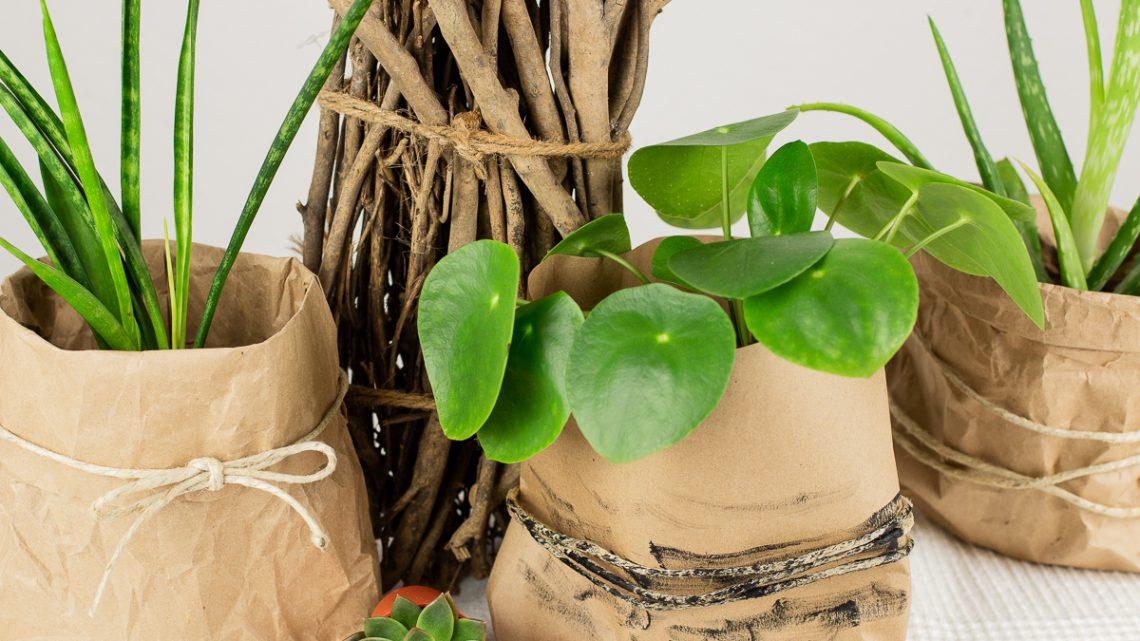 Papiertüten falten –  DIY Upcycling Idee für Altpapier