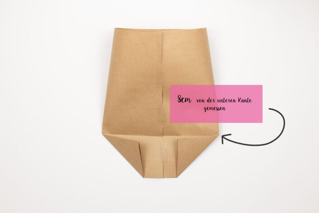 Hervorragend Papiertüten falten - Upcycling für Porridgebeutel [Werbung UH76