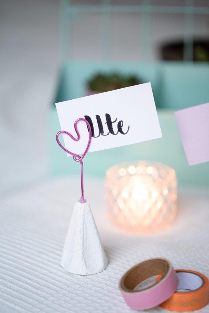 Valentinstags Geschenk mit Herz