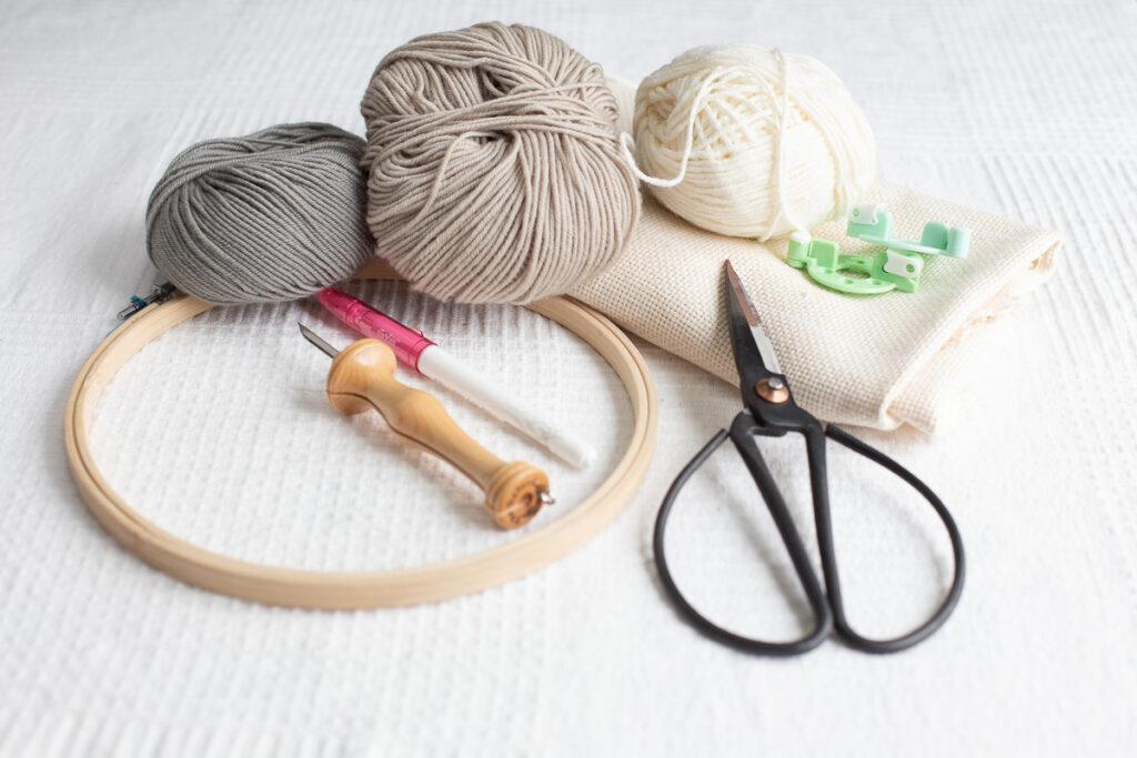 DIY Punch Needle Dekoration selber machen - Tipps und ...
