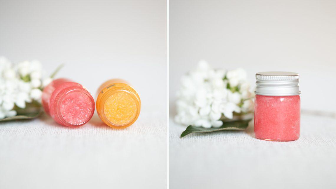 Lippenpeeling selber machen – DIY Geschenk