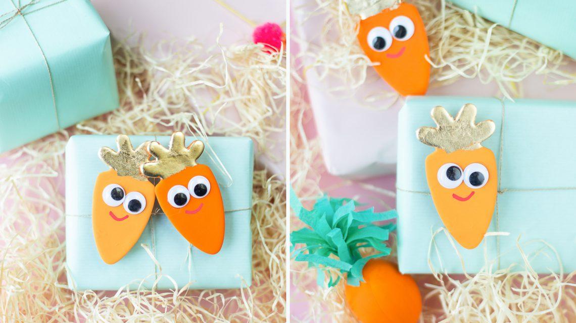 Ostergeschenke kreativ verpacken – Lotti die Karotte