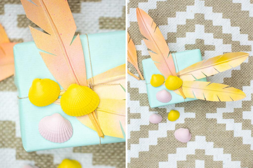 DIY Boho Federn - Dekoration zur Hochzeit