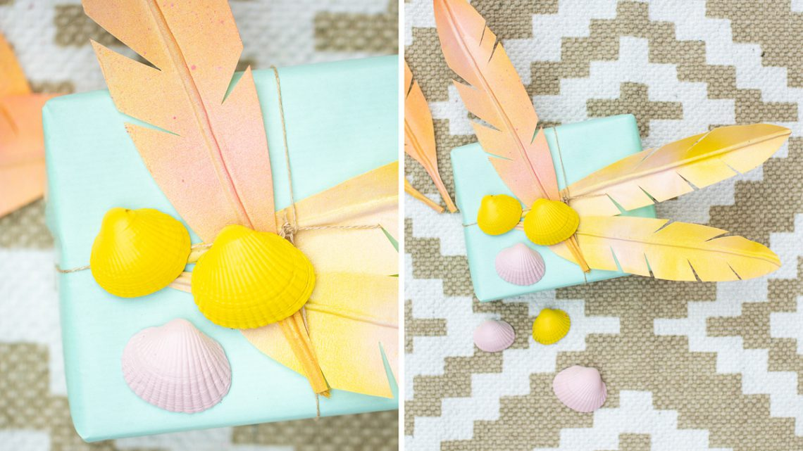 DIY Boho Federn – Dekoration zur Hochzeit