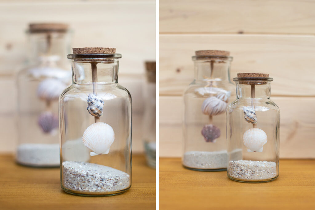 DIY Urlaubserinnerungen im Glas - Maritime Sommerdekoration basteln