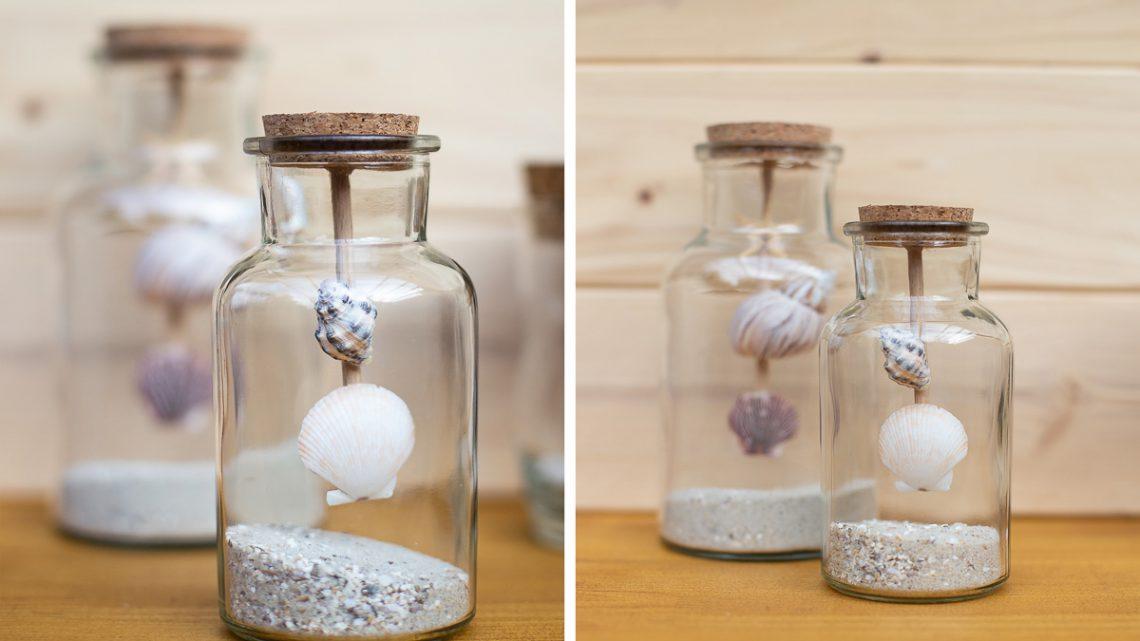 DIY Urlaubserinnerungen im Glas – Maritime Sommerdekoration basteln