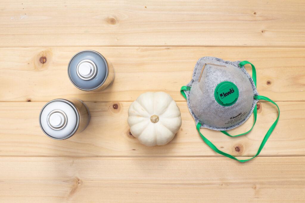 Herbst DIY: Kürbis Deko im Skandi Look selber machen
