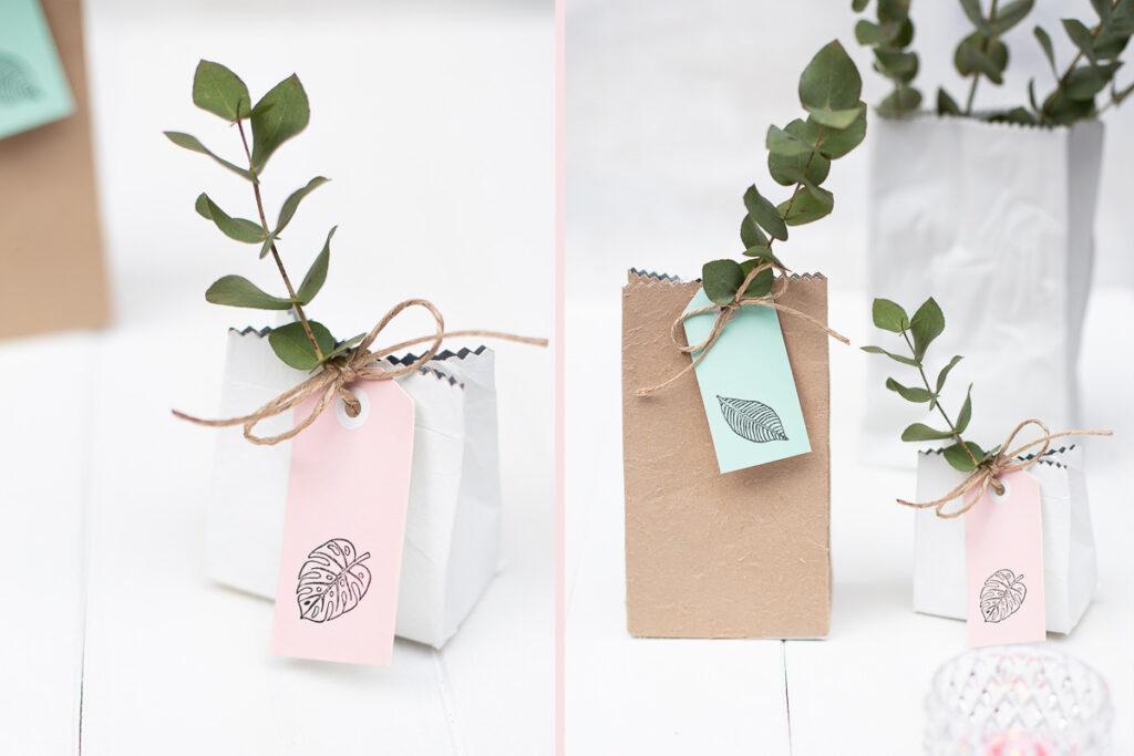 Milchtüten Upcycling Diy Geschenkverpackungen Selber