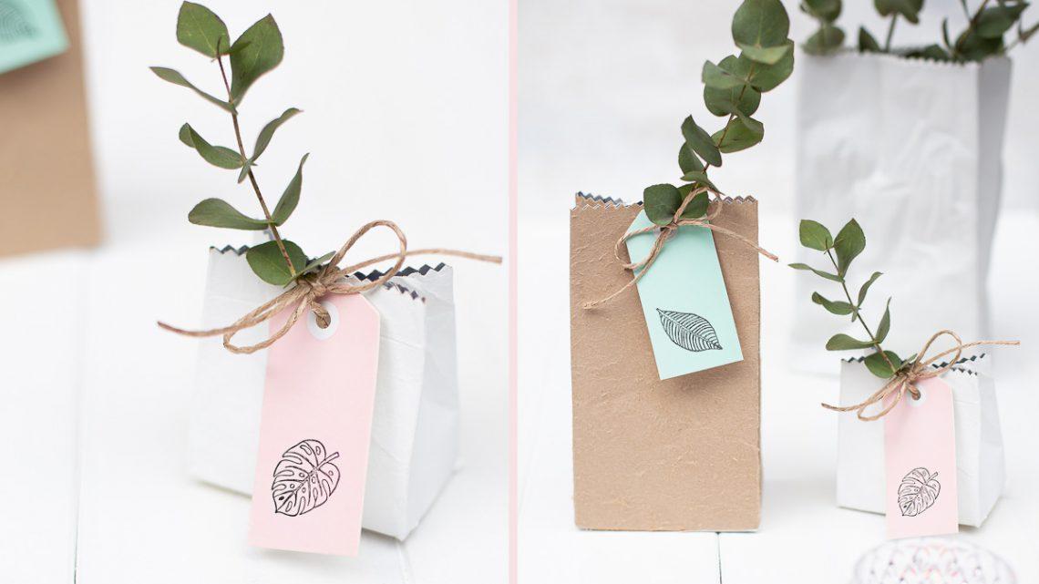 Milchtüten Upcycling – DIY Geschenkverpackungen selber machen