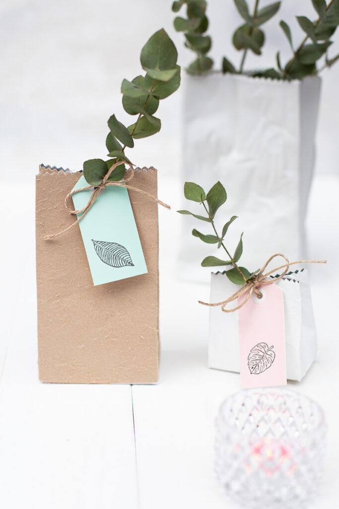 Milchtüten Upcycling - DIY Geschenkverpackungen selber machen