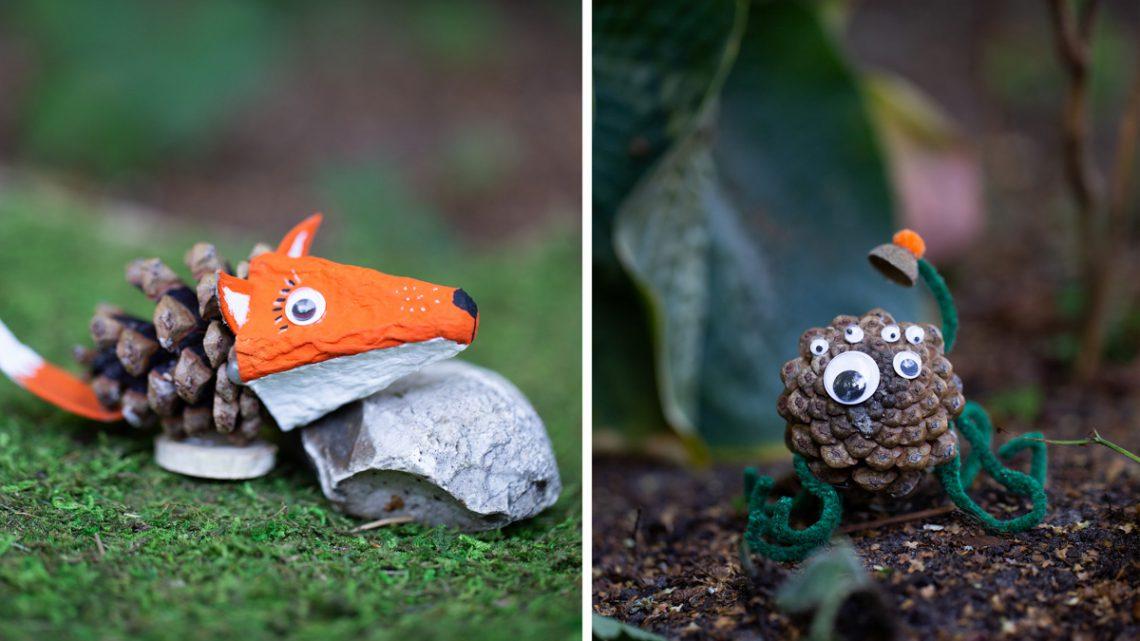 Kreatives Basteln Mit Kindern Im Herbst Diy Waldtiere Aus