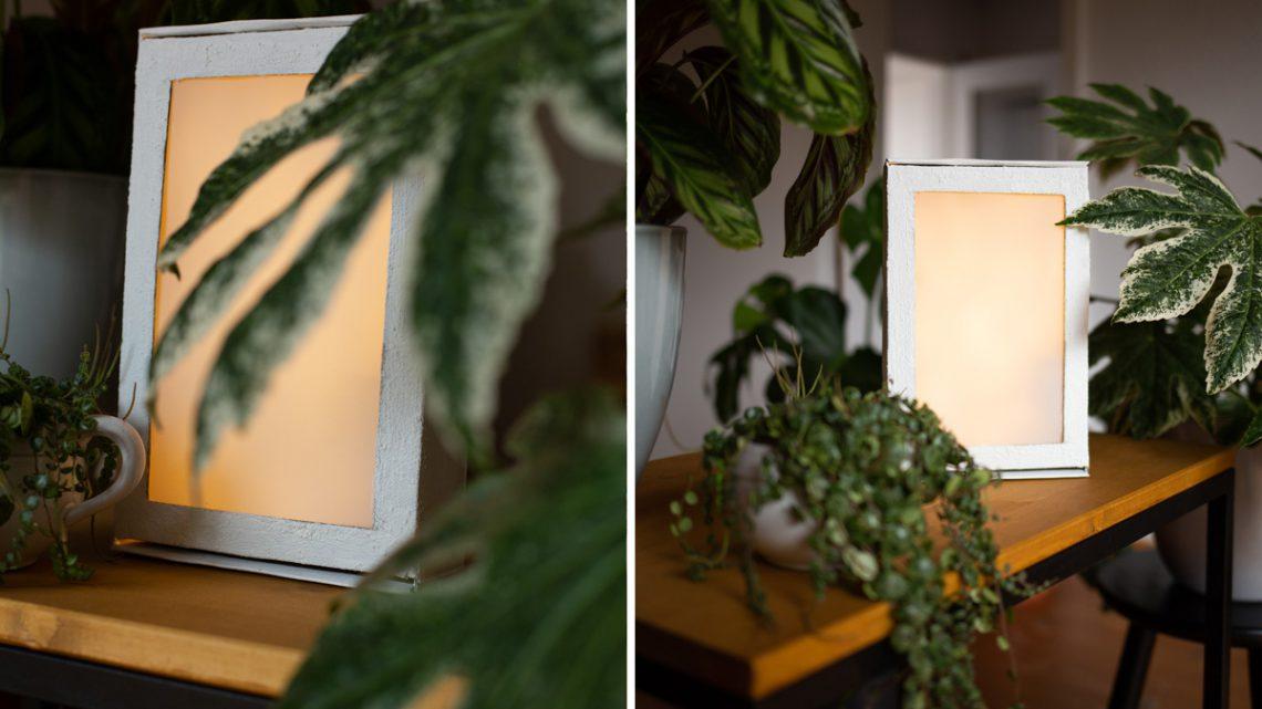 DIY Lightbox selber bauen – Altkarton Upcycling mit Anleitung