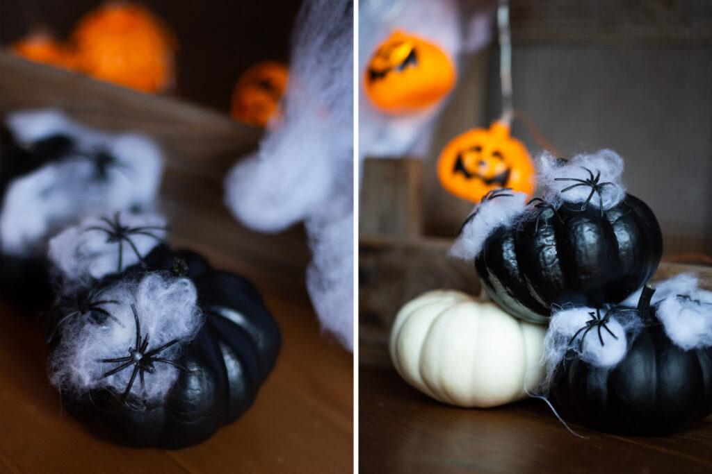 Diy Halloween Kurbis Dekoration Mit Spinnen Diy Blog Do It Yourself Anleitungen Zum Selbermachen Wiebkeliebt