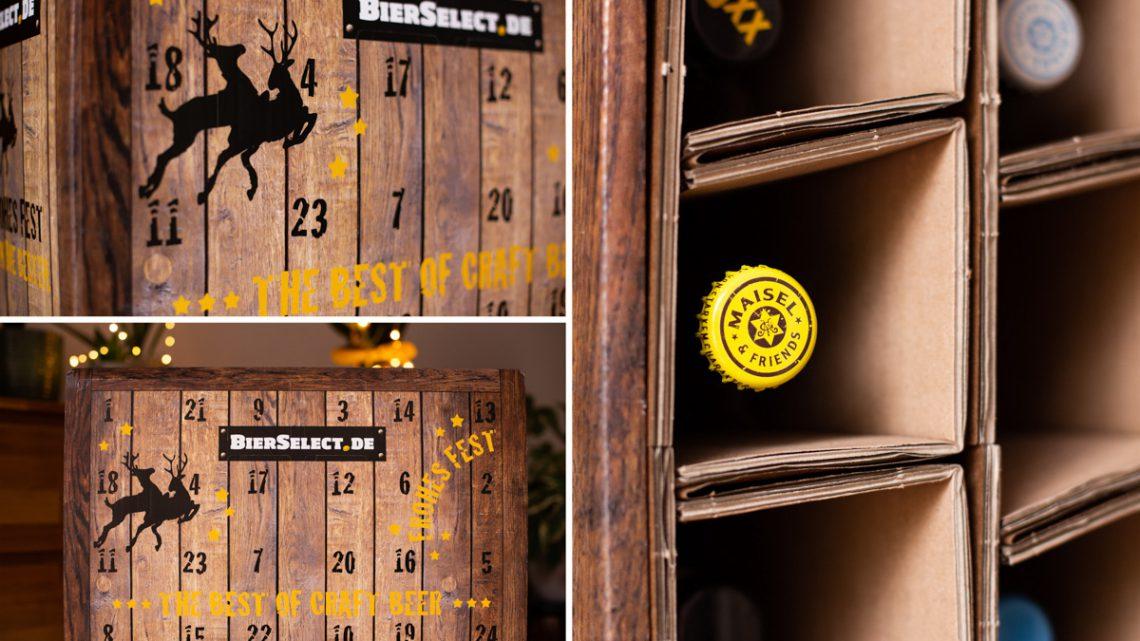 Adventskalender für Männer mit BierSelect [Werbung]