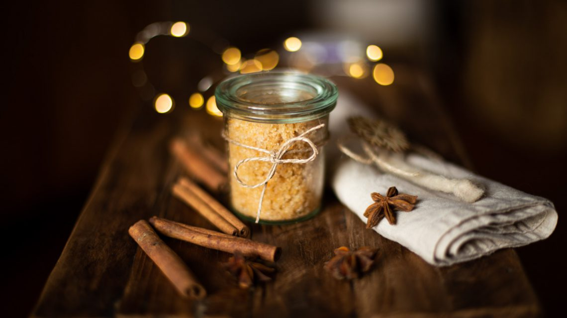 Peeling selber machen – Duftige DIY Geschenkidee zu Weihnachten