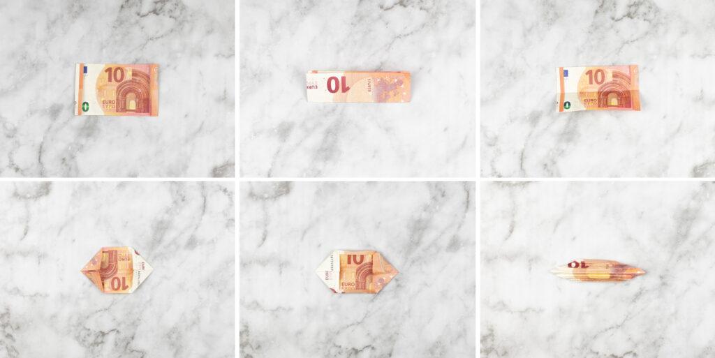 DIY: Schmetterlinge aus Geld falten - Anleitung für besondere Geldgeschenke [Werbung]