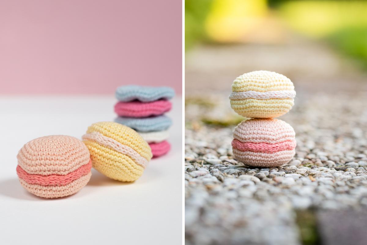 DIY: Macarons selber machen – Rezept zum Häkeln