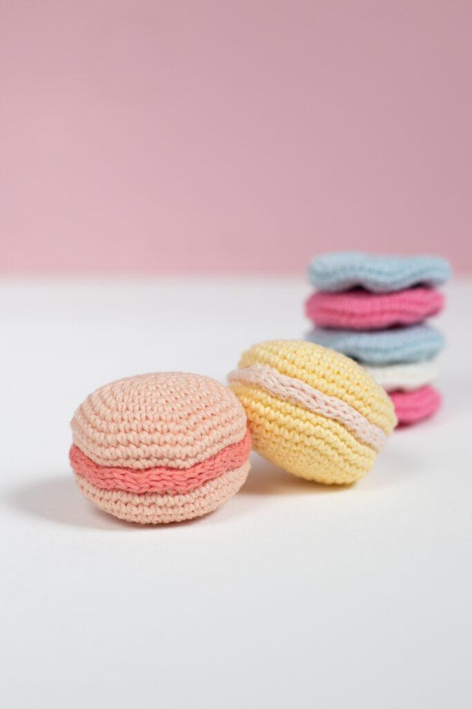 DIY: Macarons häkeln - Anleitung für Anfänger