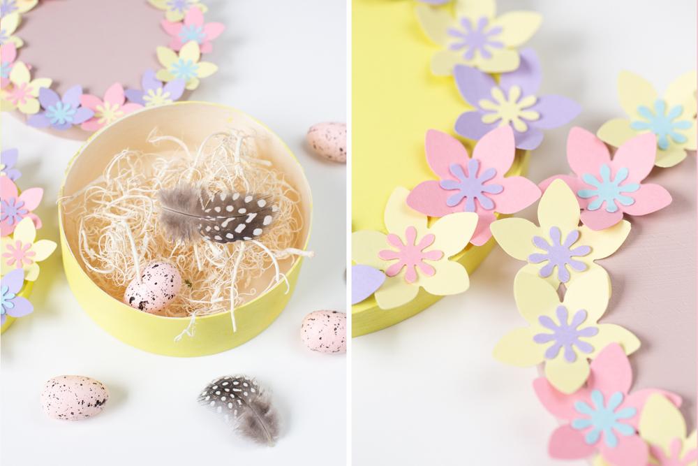 DIY Osterkörbchen basteln – Einfache Geschenkverpackung