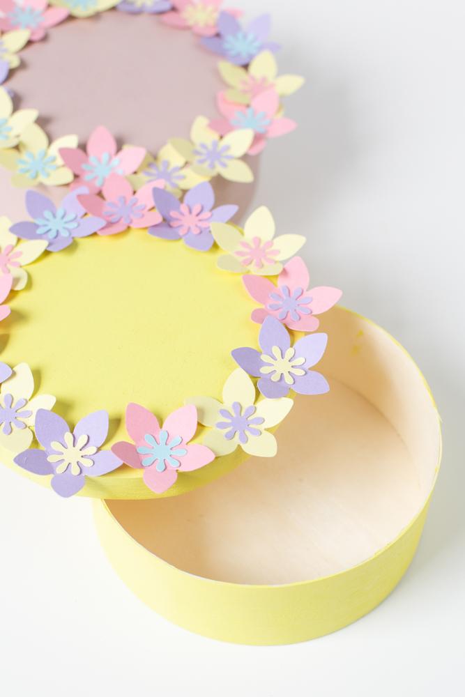 DIY Osterkörbchen basteln - Einfache Geschenkverpackung