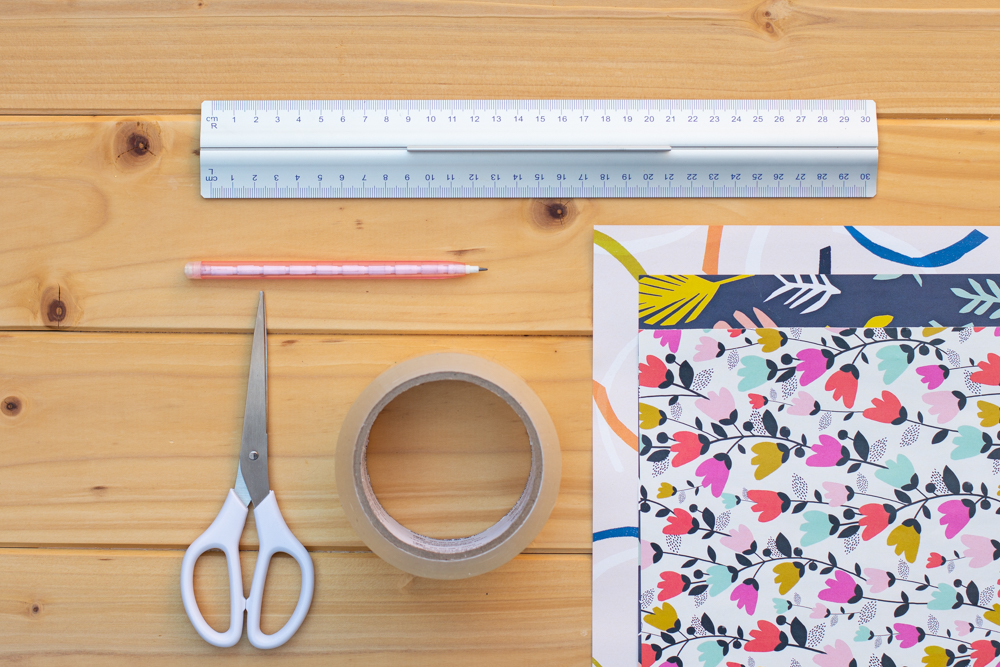 Bildtransfer mit Klebeband - DIY Upcycling für Gläser