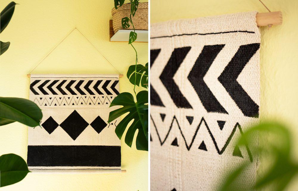 DIY IKEA Hack – Boho Wandteppich selber machen [Werbung]