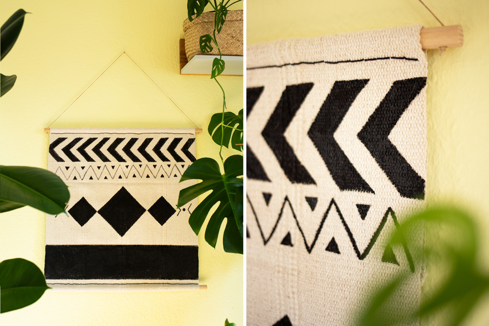 DIY IKEA Hack - Boho Wandteppich selber machen