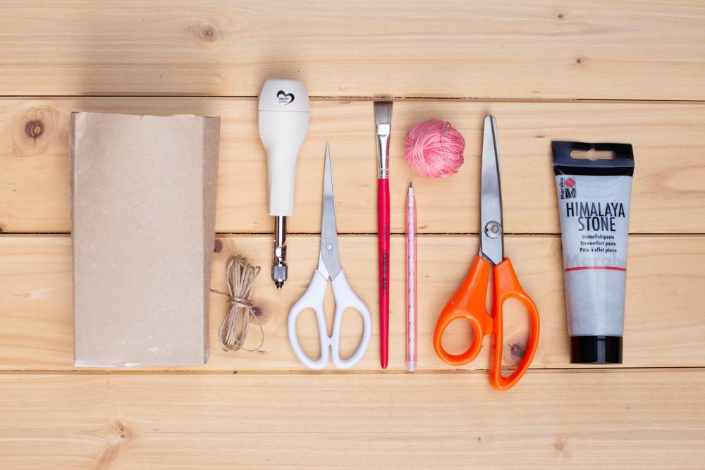 Osterkörbchen aus Milchtüten basteln - DIY Upcycling Idee