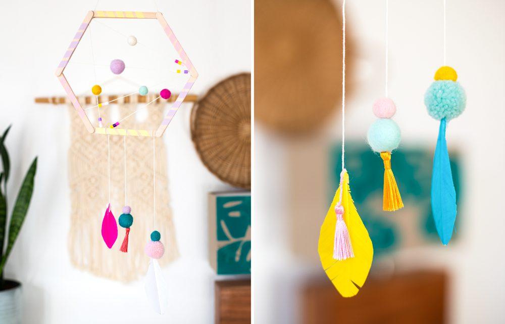 Traumfänger basteln – DIY Deko für das Kinderzimmer [Werbung]