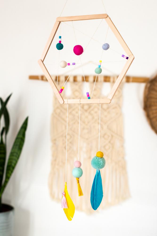 Traumfänger basteln - DIY Deko für das Kinderzimmer