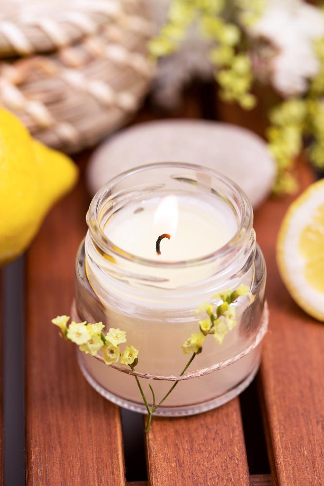 Mücken vertreiben mit Citronella Kerzen