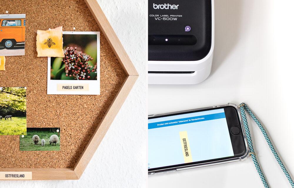 DIY: Wabenregal für Urlaubserinnerungen selber machen [Werbung]