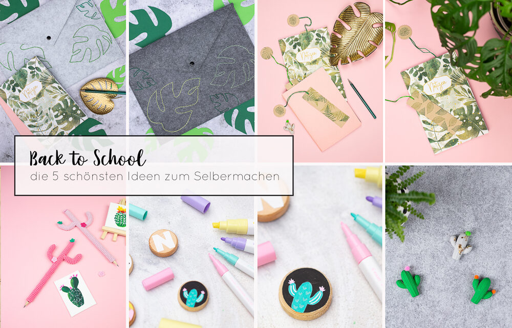 Back to School – die 5 besten DIY Ideen