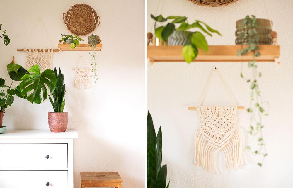 DIY Makramee Wandbehang selber machen