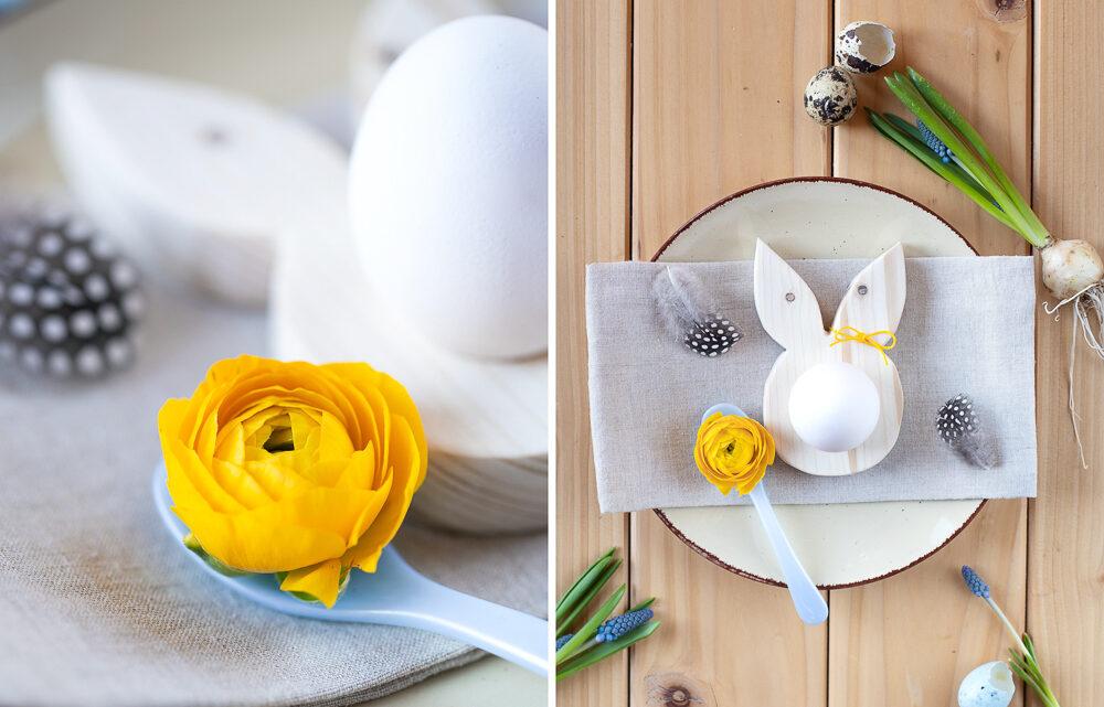 Osterdeko aus Holz selber machen – DIY Eierbecher [Werbung]