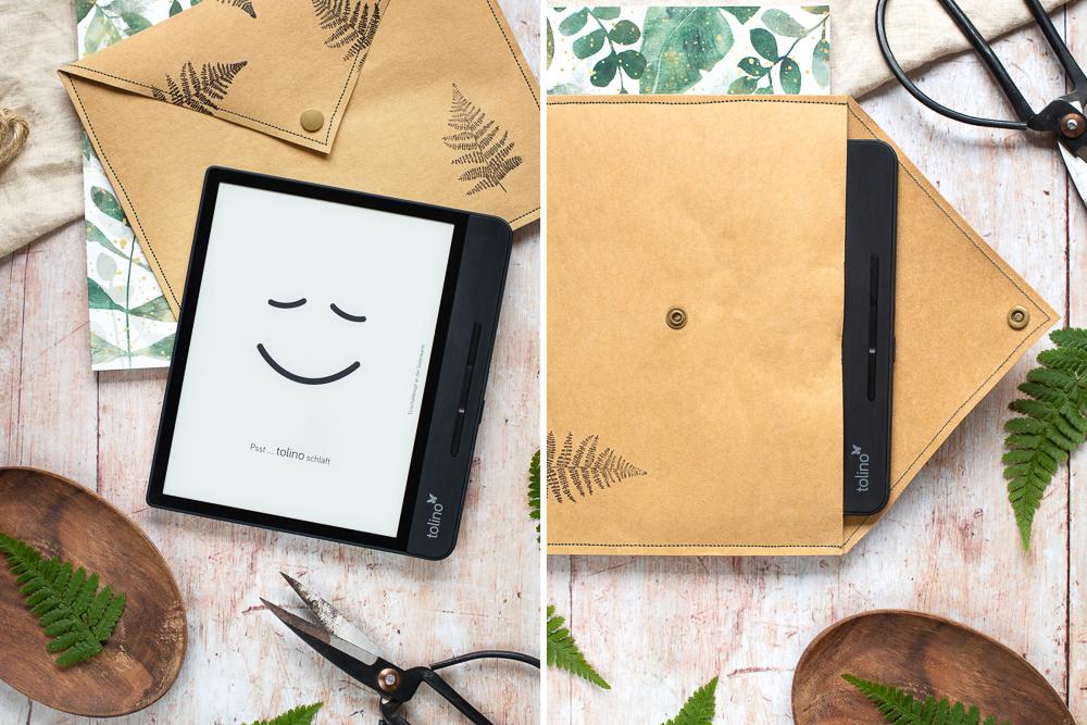 DIY: eReader Hülle aus SnapPap nähen