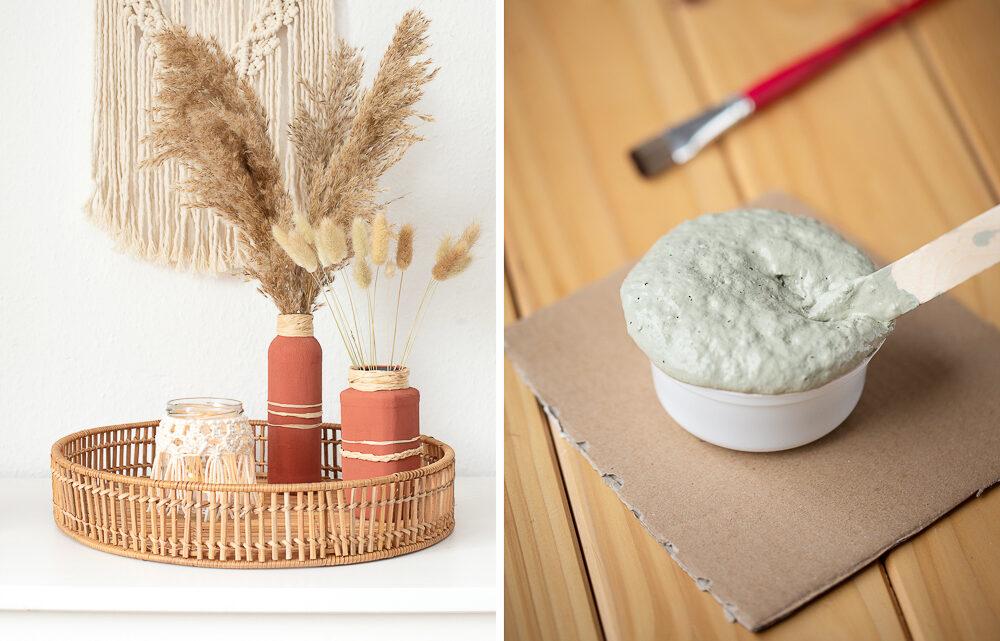 Kreidefarbe selber machen – DIY Upcycling Deko
