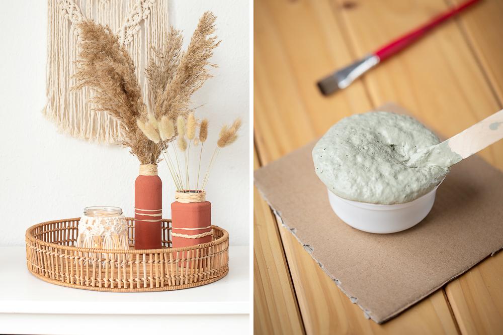 Kreidefarbe selber machen - DIY Upcycling Deko mit Backpulver/Natron