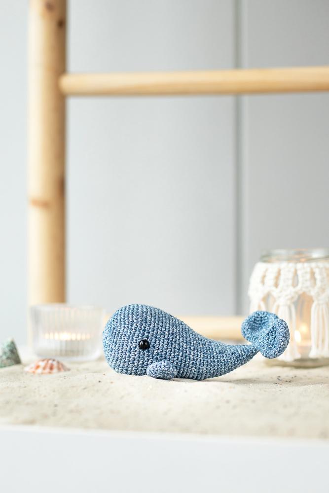 Wal häkeln - DIY Anleitung für Anfänger