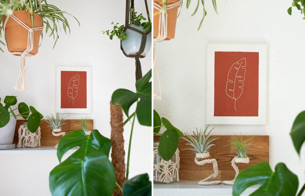 DIY Line Art Bilder sticken
