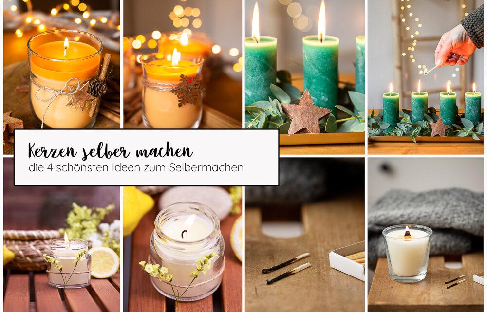 Kerzen selber machen – die schönsten DIY Ideen